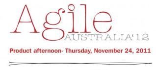 Agile Australia Product Afternoon
